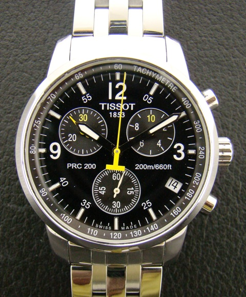 TISSOT MENS PRC200 CHRONOGRAPH WATCH T17.1.586.52