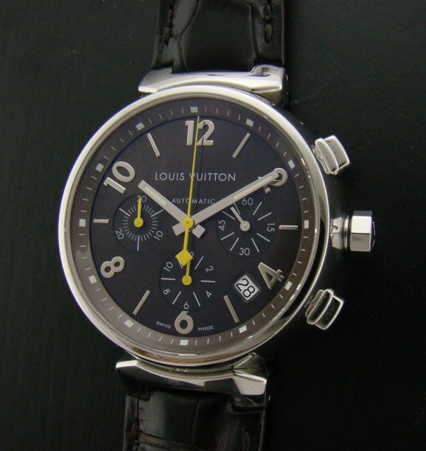 LOUIS VUITTON AUTOMATIC 277 TAMBOUR CHRONOGRAPH