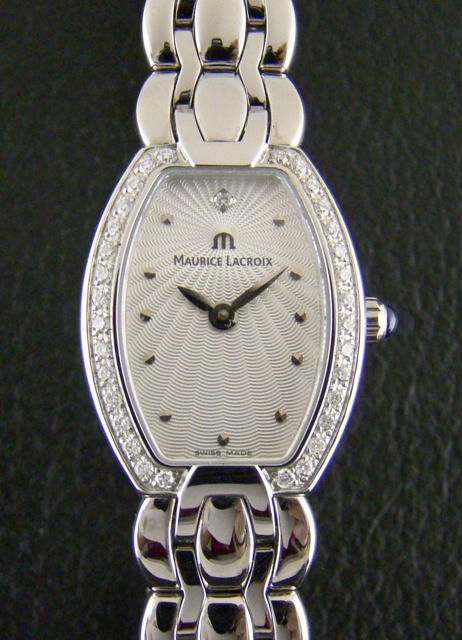 LADY MAURICE LACROIX DIAMOND WATCH
