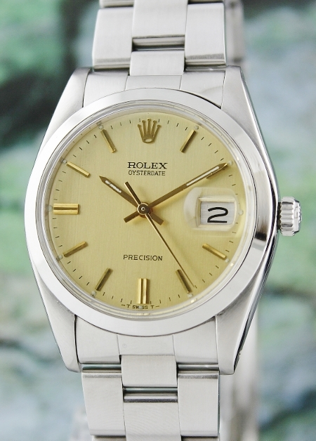 MINT VINTAGE ROLEX OYSTER PRECISION MANUAL WINDING / 6694