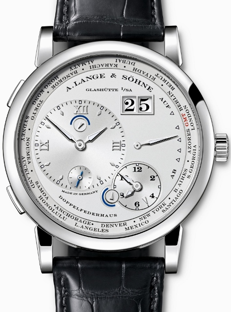 LIKE NEW A. Lange & Sohne Lange 1 Platinium Time Zone / 160.025