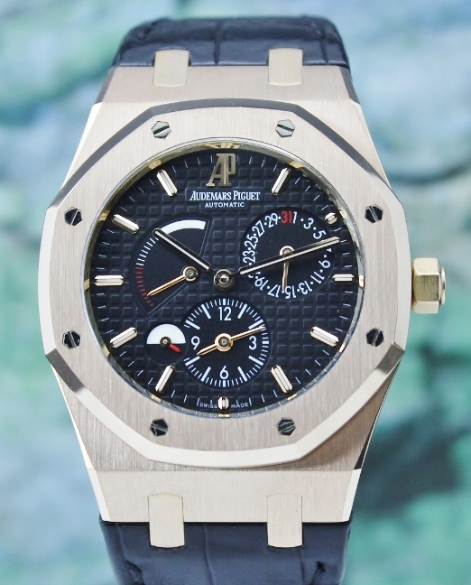 Audemars Piguet Royal Oak Dual Time 18K Rose Gold / 26120OR.OO.D002CR.01