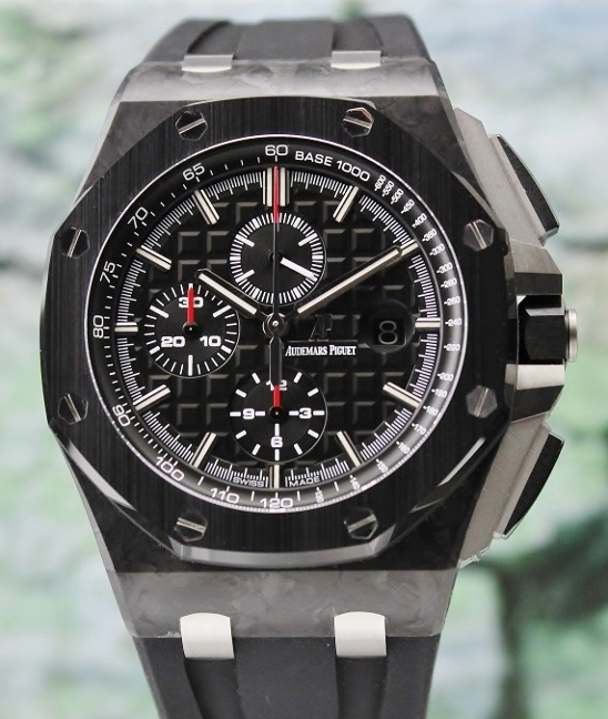AUDEMARS PIGUET ROYAL OAK OFFSHORE 44MM FORGED CARBON / 26400AU.OO.A002CA.01