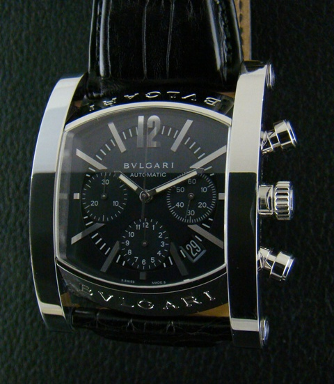 Bvlgari Assioma 44mm Chronograph Watch - Automatic