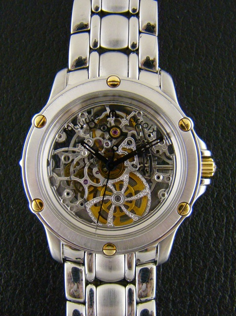 MAURICE LACROIX SKELETON WATCH - AUTOMATIC
