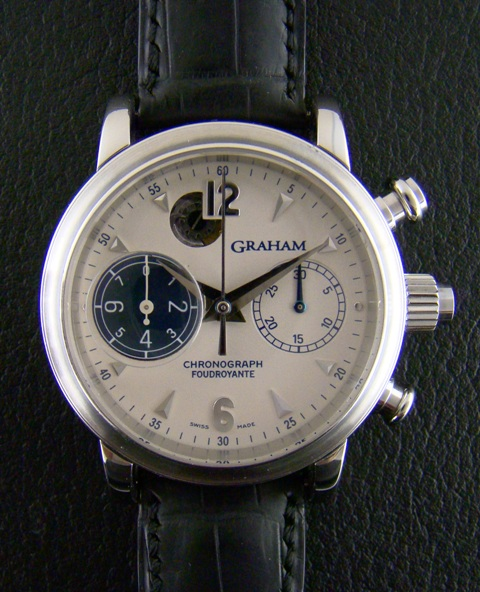 GRAHAM FOUDROYANTE CHRONOGRAPH WATCH