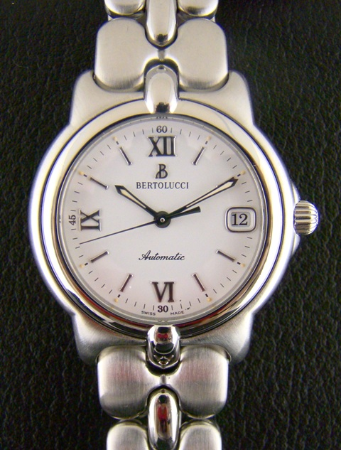 BERTOLUCCI VIR SERIES MEN STEEL WATCH - AUTOMATIC