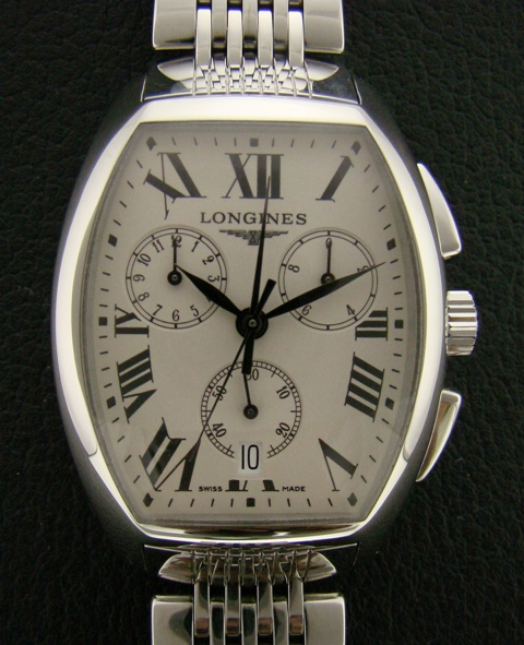 LONGINES EVIDENZA CHRONOGRAPH WATCH