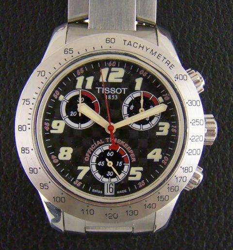 TISSOT MAN SIZE CHRONOGRAPH MEN WATCH