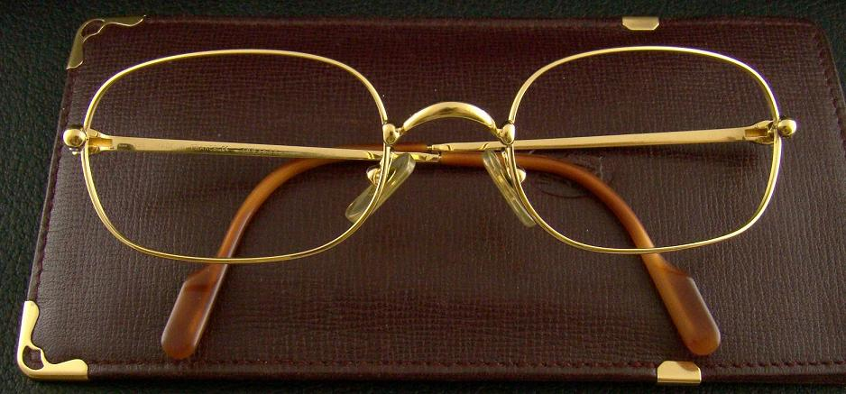 Cartier 18K Gold Filled Spectacle Frame