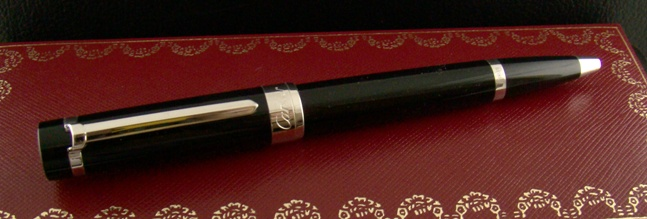 CARTIER Roller Ball Pen Pasha Platinum