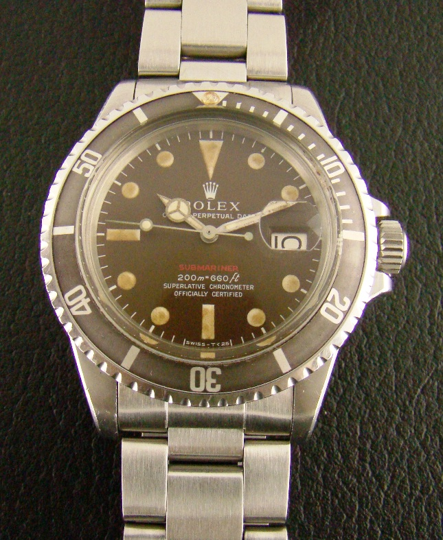 "ROLEX VINTAGE OYSTER PERPETUAL ""RED SUB"" - 1680"