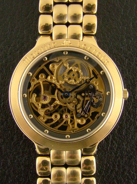 MAURICE LACROIX SKELETON WATCH - MANUAL WINDING