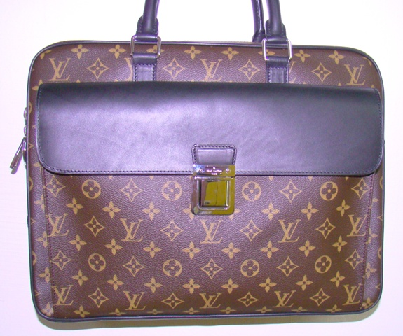 LOUIS VUITTON SOFT BRIEFCASE MONO.MAC