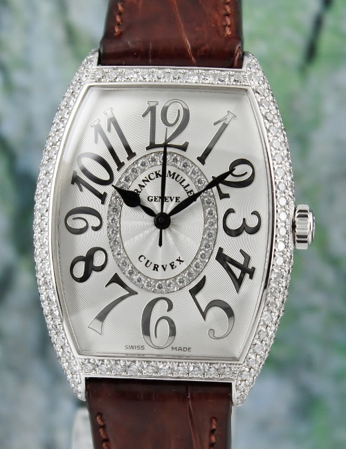 Franck Muller 18K White Gold Automatic Watch / 6850 SC D CD 1R RELIEF