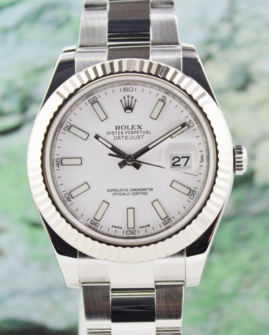 A ROLEX 41MM DATEJUST II OYSTER PERPETUAL DATEJUST - 116334