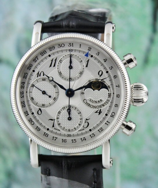Unworn Chronoswiss Lunar Chronograph Automatic Watch / CH7523 L