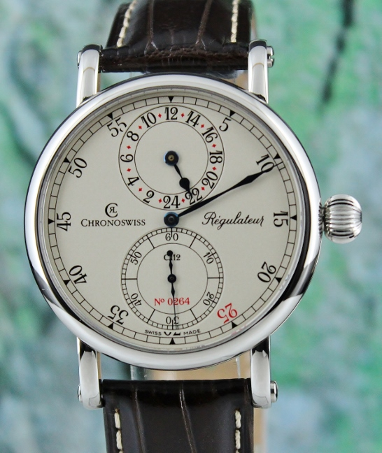 Unworn Chronoswiss Regulator 24 Limited Edition / CH1123