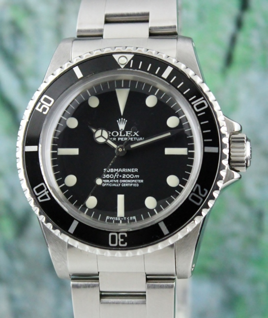 A ROLEX VINTAGE STAINLESS STEEL ROLEX SUBMARINER / 5512