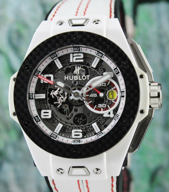 LIKE NEW Hublot Big Bang Ferrari 45mm Limited Edition / 401.HQ.0121.VR