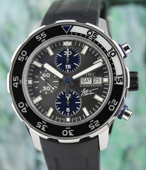 IWC Limited Edition Aquatimer Jacques Cousteau Chronograph / IW376706