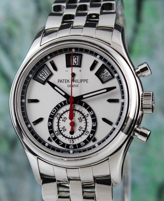 Like New Patek Philippe Annual Calendar Chronograph Watch / 5960/1A-001
