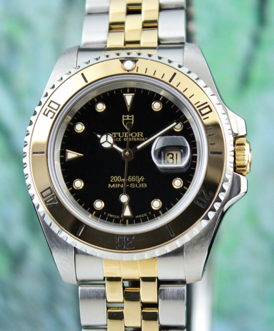 Discontinued Tudor Mini Sub Automatic Watch / 73193