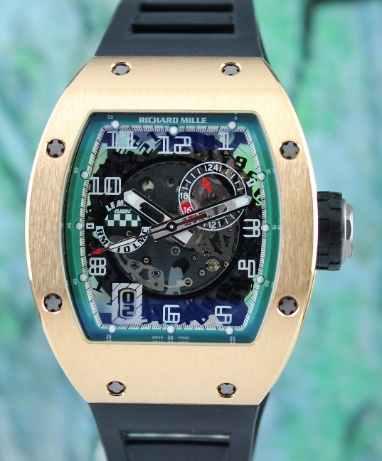 UNPOLISHED Richard Mille RM 10 In 18K Rose Gold Le Mans Classic Limited Edition 80 Pieces