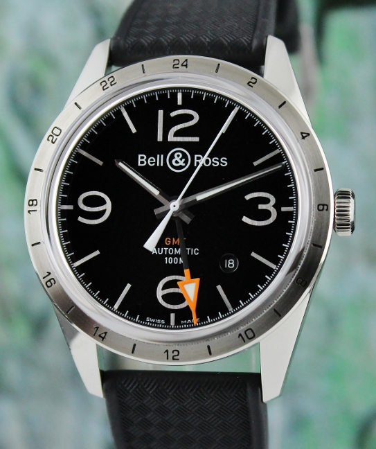 Unworn Bell & Ross BR 123 GMT 24H Automatic Watch