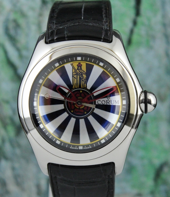 "CORUM BUBBLE LIMITED EDITION ""ROUND TABLE"" AUTOMATIC WATCH"