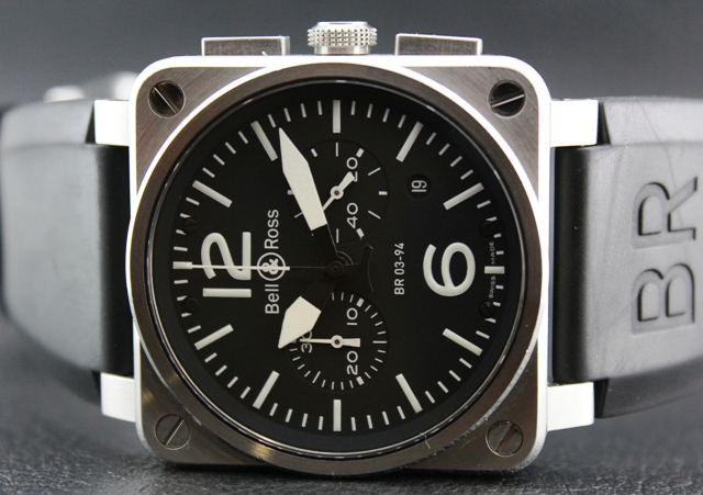 Bell & Ross BR03-94 Steel Chronograph