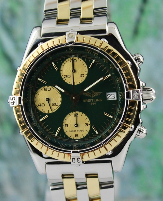 A BREITLING CHRONOMAT CHRONOGRAPH AUTOMATIC WATCH / D13048