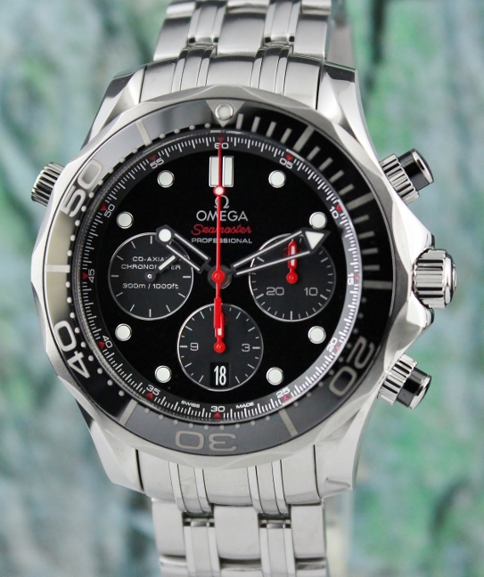 Omega Seamaster Co-Axial Chronograph Automatic Watch / 21230445001001