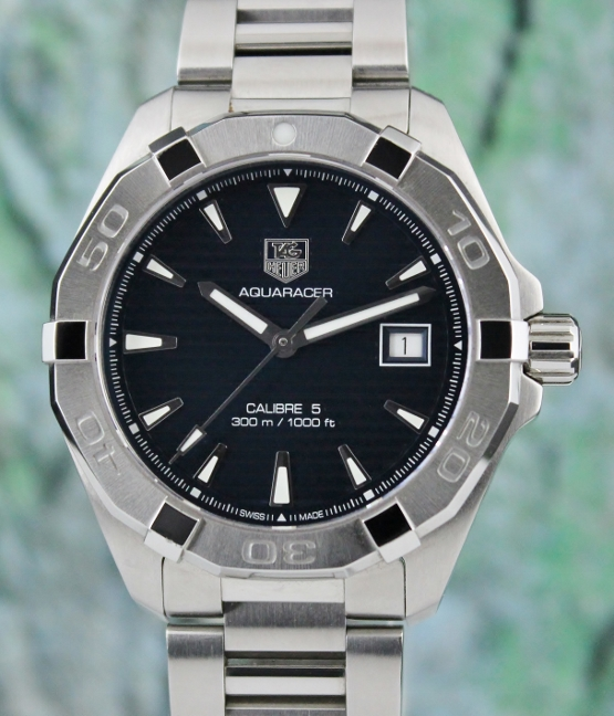 A STAINLESS STEEL TAG HEUER FORMULA 1 AUTOMATIC WATCH / WAY2112