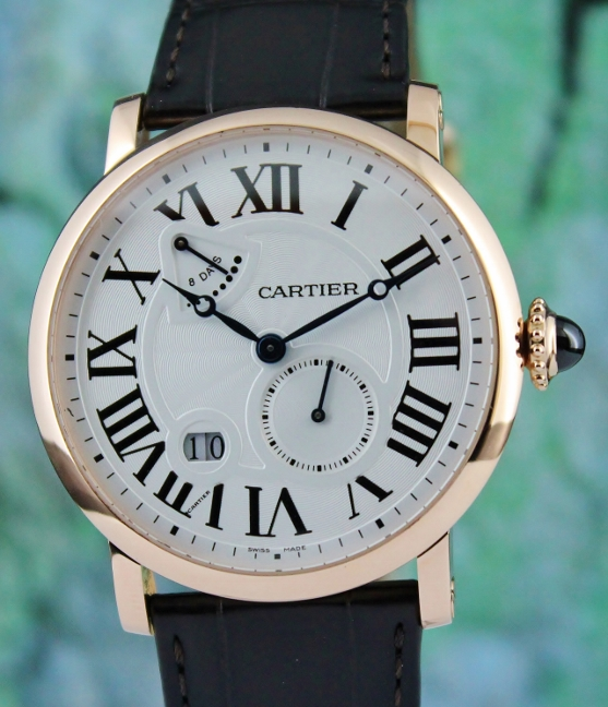 Cartier 18K Rose Gold Rotonde 8 days Power Reserve / W1556203