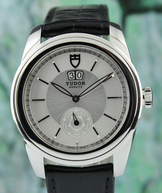 A TUDOR Glamour Stainless Steel Automatic Watch / 57000
