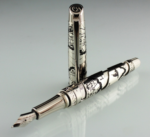 A Caran d'Ache Secret Journey I Voltaire Fountain Pen
