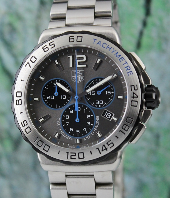 Like New Tag Heuer Stainless Steel Chronograph Watch / CAU1119