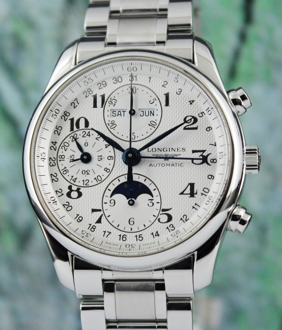 Longines Master Collection Moon-Phase Triple Date Automatic Watch / L26734783