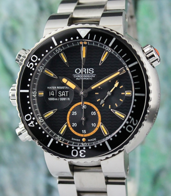 Oris Carlos Coste Limited Edition Automatic Watch / 678.7598.71.84.SET