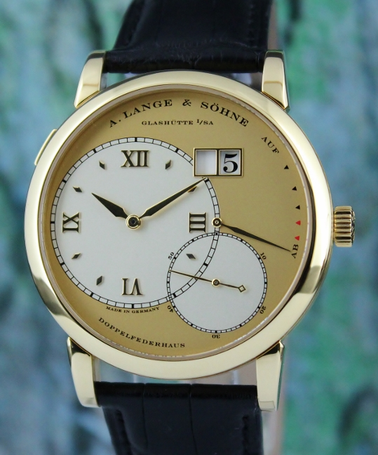 A. Lange & Sohne 18K Yellow Gold Grand Lange 1 / 115.021