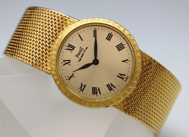 18K SOLID GOLD PIAGET LADY WATCH