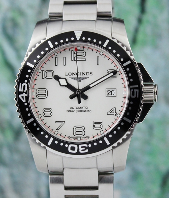 Longines Hydro Conquest Stainless Steel Automatic Watch / L36954136