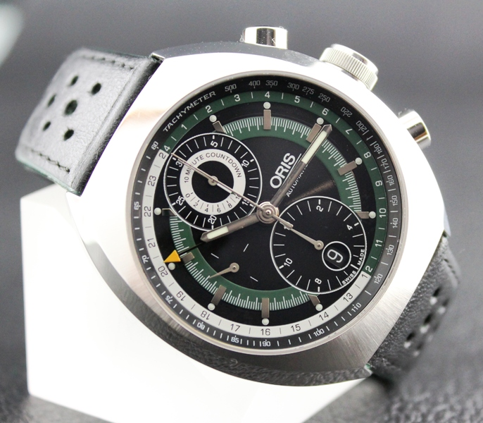Oris Chronoris Chronograph Grand Prix 70 Limited Ed / 7619