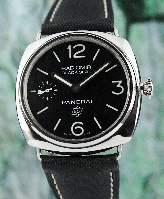 "PANERAI 45 MM RADIOMIR BLACK SEAL LOGO PAM 380 ""O"" SERIES"