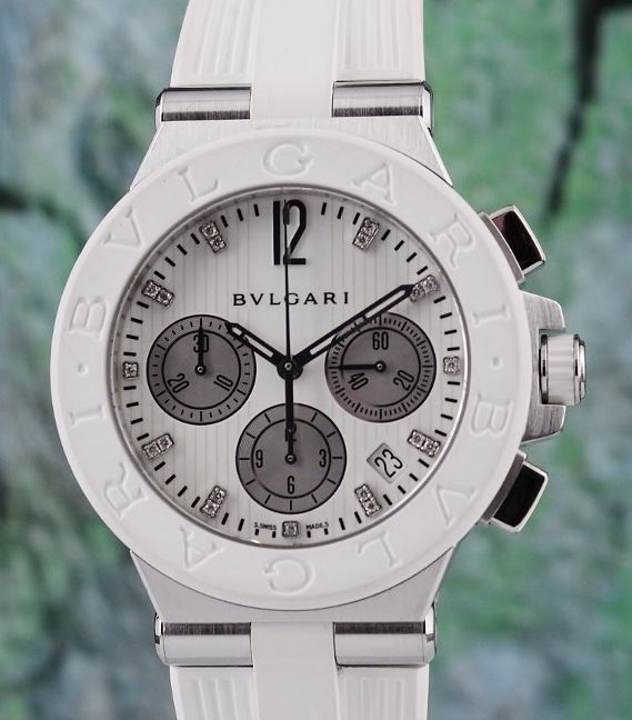 Bvlgari DIAGONO 41MM Automatic Chronograph Watch / DG40SCH