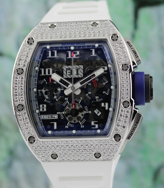 Like New Richard Mille Asia Boutique Limited Edition 18K White Gold NTPT / RM011