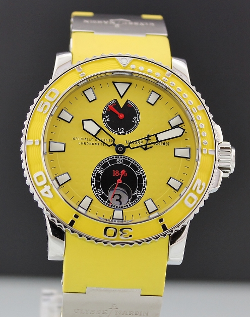 A Ulysse Nardin Maxi Diver Yellow / 263.33.3.941