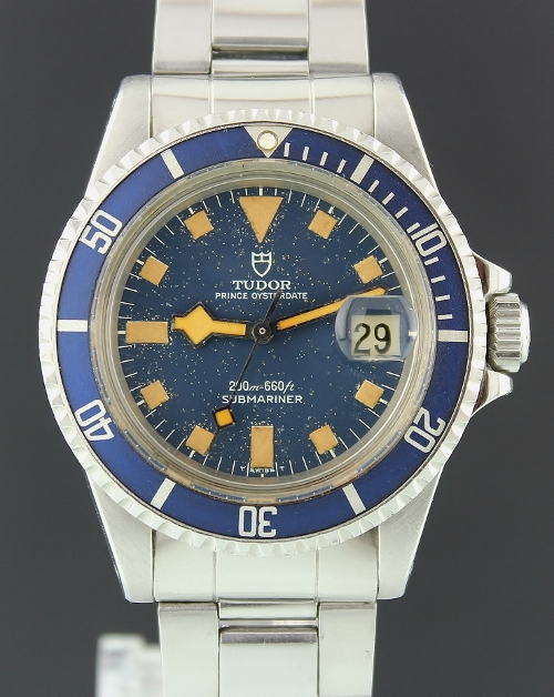 RARE ROLEX / TUDOR PRINCE OYSTER DATE SUBMARINER SNOW FLAKE / 94110