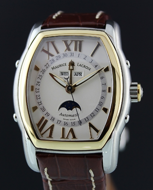 MAURICE LACRIOX TRIPLE CALENDAR AUTOMATIC WATCH